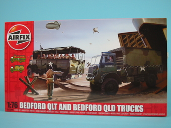 Bedford QLD General Purpose Cargo Truck / BedfordQLT Troop Carrier   [#*e] N