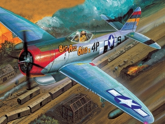 P-47 D Thunderbolt Nose Art   [#*d] ean vk   B*   Be