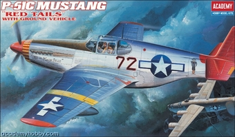 P-51 C Mustang Red Tails
