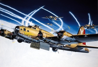 B-17 F Flying Fortress