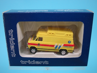 Chevrolet, gelb Ambulance   [#*c] 1