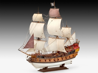 Piraten Schiff (1:72)   [#*Ld]