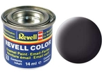 Revell 6, Teerschwarz - Email Color 14 ml - RAL 9021